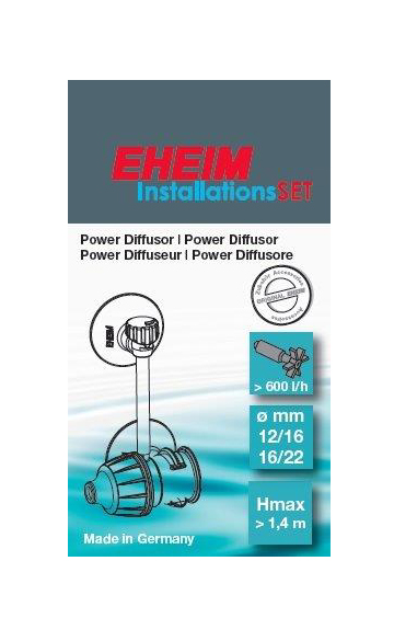 Eheim Power Difussor 12/16