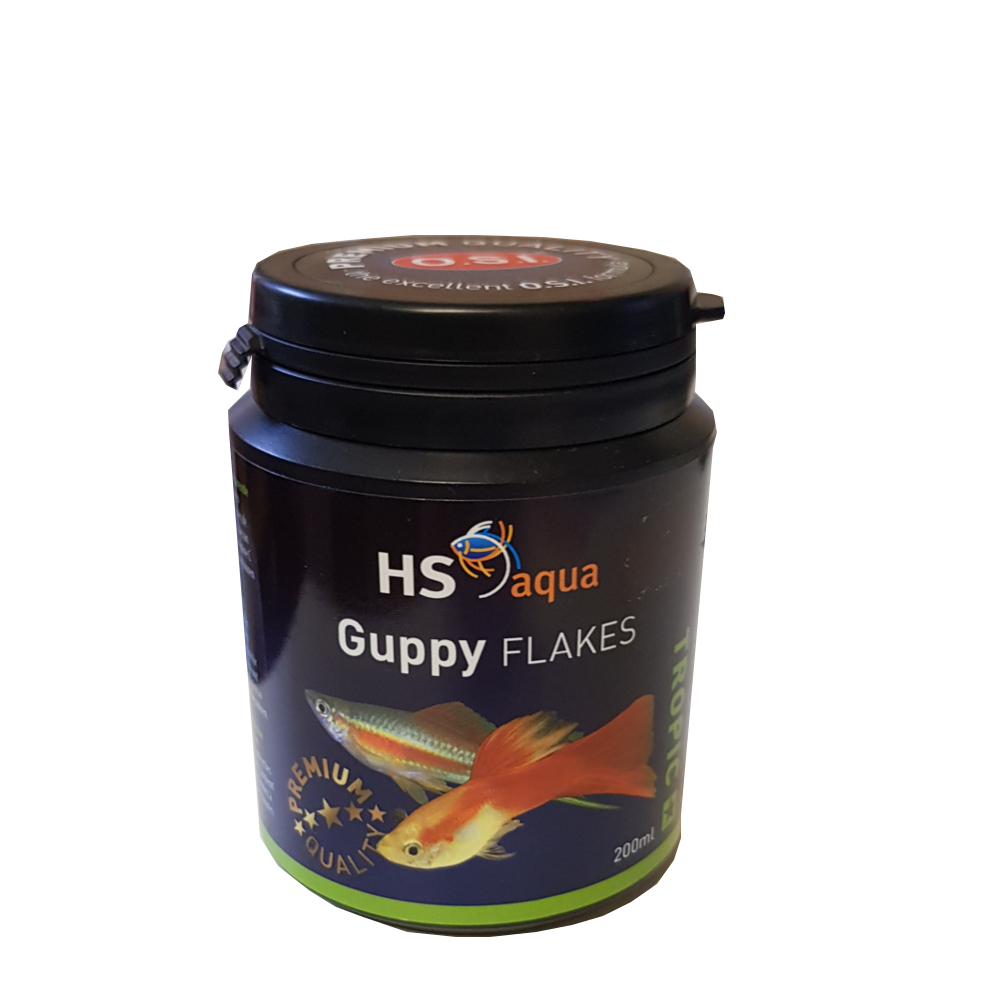 HS Aqua Guppy Flakes 200ml