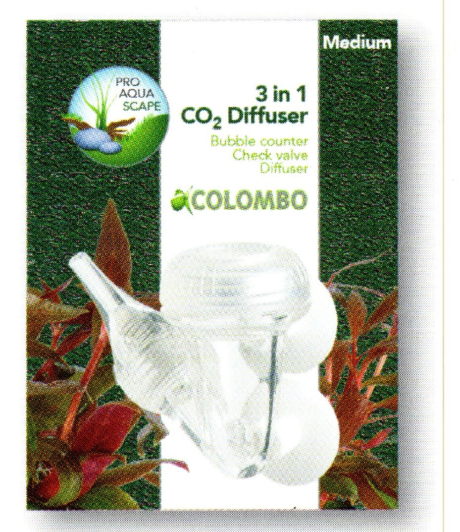 Colombo CO2 3 in 1 Diffusor