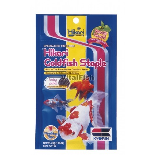 STAPLE GOLDFISH BABY 100 GRAM